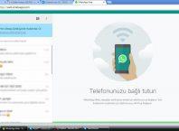 Bilgisayardan Whatsapp'a Nasıl Girilir?