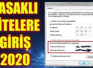DNS Ayarları – 2021 Yasaklı Sitelere Giriş DNSleri